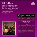 The English Concert / Trevor Pinnock - Bach, c.p.e.: the symphonies for strings