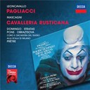 Elena Obraztsova / Georges Pr&ecirc;tre / Juan Pons / Orchestre Theatre Scala Milan / Pietro Mascagni / Pl&aacute;cido Domingo / Ruggero Leoncavallo / Teresa Stratas - Leoncavallo: pagliacci / mascagni: cavalleria rusticana