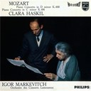 Clara Haskil / Igor Markevitch / Orchestre Lamoureux - Mozart: piano concerto in d minor, k.466; piano concerto in c minor, k.491
