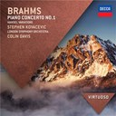 Johannes Brahms / Sir Colin Davis / Stephen Kovacevich / The London Symphony Orchestra - Brahms: piano concerto no.1; handel variations