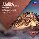 Johannes Brahms / Sir Colin Davis / Stephen Kovacevich / The London Symphony Orchestra - Brahms: piano concerto no.1; handel variations