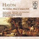 King's College Choir Of Cambridge / Sir David Willcocks - Haydn: the creation . missa in tempore belli