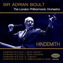 Sir Adrian Boult / The London Symphony Orchestra - Hindemith: symphony in e-flat major