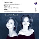 G&uuml;her Pekinel / Marek Janowski / S&uuml;her Pekinel - Saint-sa&euml;ns, poulenc, infante &amp; ravel : piano works  -  apex