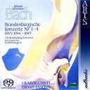 Diego Fasolis / I Barocchisti - Johann sebastian bach: the brandenburg concertos no.  1-4, bwv 1046-1049