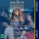 "Coro Della Radio Svizzera / Diego Fasolis / I Barocchisti - Bach: psalm 51 from pergolesi's stabat mater bwv 1083, cantata ""vergnügte ruh, beliebte seelenlust"" bwv 170"