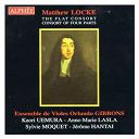 Ensemble De Violes Orlando Gibbons - Matthew Locke