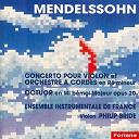 Felix Mendelssohn / Philip Bride - Concertos pour violon en re mineur - octuor op.20