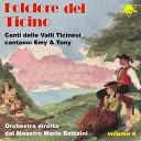 Emy / Tony - Folclore del ticino, vol. 4 (orchestra diretta dal maestro mario battaini)