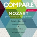 "Bruno Walter / Columbia Symphony Orchestra, Bruno Walter / Karl Böhm / L'orchestre Philharmonique De Berlin - Mozart: symphony no. 41 ""jupiter"", bruno walter vs. karl böhm (compare 2 versions)"