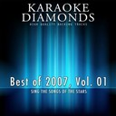 Karaoke Diamonds - The very best of 2007, vol. 1 (karaoke hits of the year 2007)