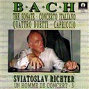 Sviatoslav Richter - Bach : Sonata, Capicio, Duetti (Un homme de concert 3)