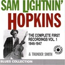 Sam Lightnin' Hopkins - The complete first recordings, vol .1