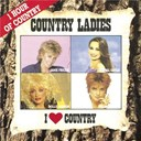 Crystal Gayle / Janie Frickie / Mary Chapin Carpenter / Rosanne Cash / Sweethearts Of The Rodeo / Tammy Wynette / Tanya Tucker - I love country / country ladies