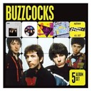 Buzzcocks - 5 album set (remastered) (another music in a different kitchen/love bites/a different kind of tension/entertaining friends/all set)