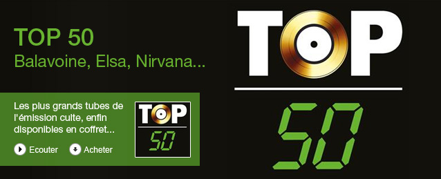 Compilation - Top 50 - 30 ans (95 tubes)