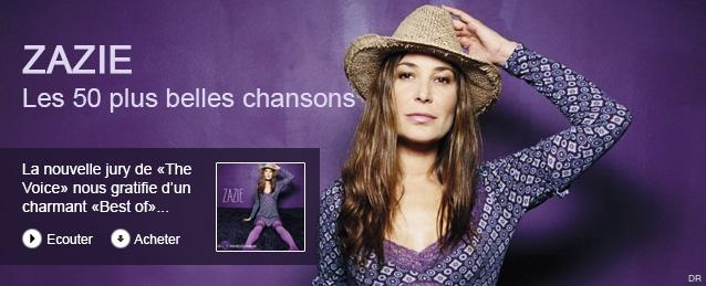 Zazie - Les 50 plus belles chansons
