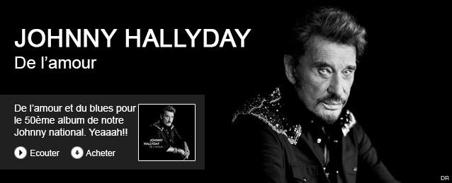 Johnny Hallyday - De l' amour