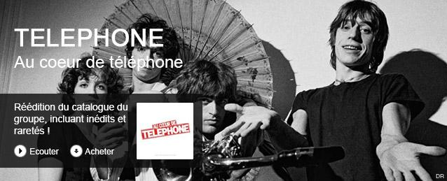 Téléphone - Au coeur de telephone - best of deluxe (remasterisé en 2015)