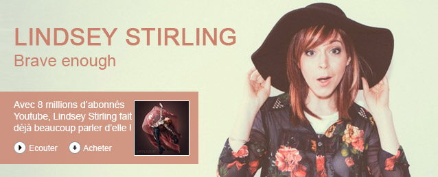 Lindsey Stirling - Brave enough (deluxe edition)