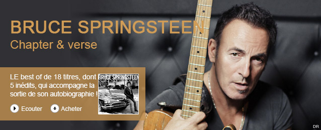 """Bruce Springsteen """"The Boss"""" - Chapter and verse"""