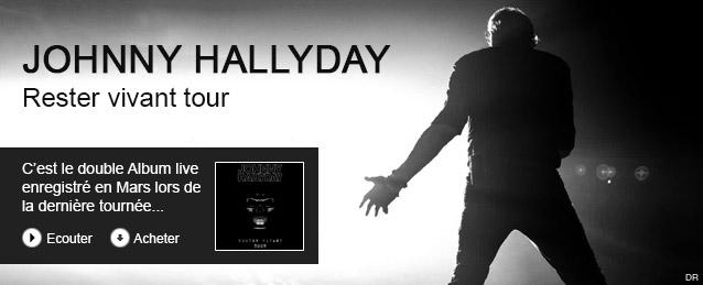 Johnny Hallyday - Rester vivant tour