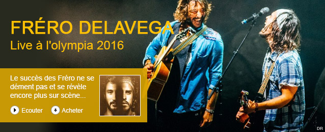 Fréro Delavega - Des ombres et des lumières - live à l'olympia / 2016