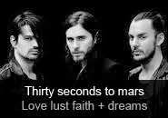 Thirty Seconds To Mars - album LOVE LUST FAITH + DREAMS