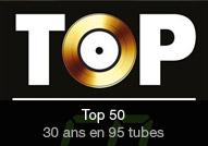 Compilation - album TOP 50 - 30 ans (95 tubes)