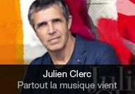 Julien Clerc - album Partout la musique vient
