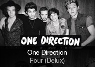 One Direction - album FOUR (Deluxe)