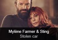 Mylène Farmer / Sting - album Stolen Car