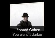 Léonard Cohen - album You Want It Darker