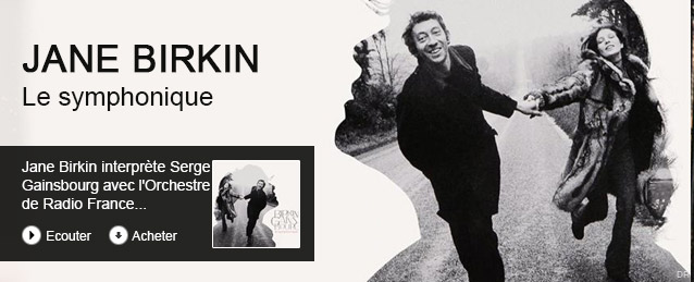 Jane Birkin - Birkin / gainsbourg : le symphonique