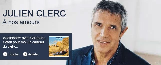 Julien Clerc - À nos amours