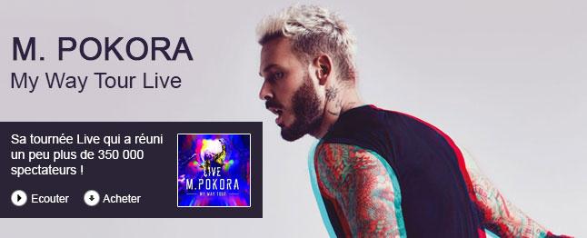M. Pokora - My way tour live