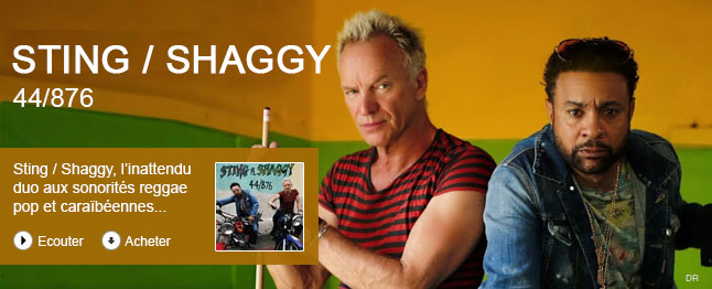 Sting / Shaggy - 44/876 (deluxe)