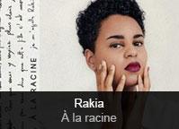 Rakia - album À la racine