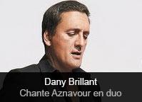 Dany Brillant - album Dany Brillant chante Aznavour - en duo
