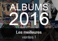 meilleures ventes albums 2016