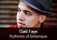 Gaël Faye - album Rythmes et botanique