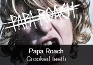Papa Roach - album Crooked Teeth