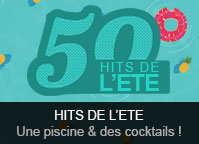 Les hits de l\'été: Piscine & cocktail
