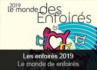 Les Enfoirés - album 2019 Le monde des Enfoirés (Live)
