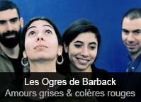Les Ogres de Barback - album Amours grises & colères rouges