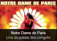 Bruno Pelletier / Luck Mervil / Daniel Lavoie / Patrick Fiori / Hélène Ségara / Julie Zénatti / Garou - album Notre Dame de Paris - Live au Palais des Congrés 1998