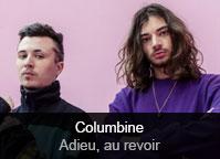 Columbine - album Adieu, au revoir