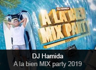 DJ Hamida - album À la bien Mix Party 2019
