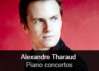 Alexandre Tharaud / Gérard Pesson / Hans Abrahmansen / Oscar Strasnoy - album Pesson, Abrahamsen & Strasnoy: Piano Concertos