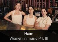 Haim - album Women In Music Pt. III